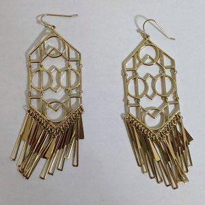 Banana Republic god chandelier earrings